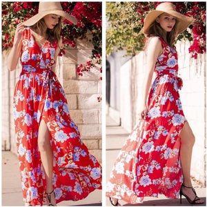 Orlando Blooms Maxi Dress